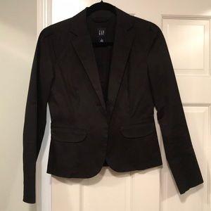NWOT size 4 blazer jacket black GAP - awesome